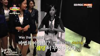 eng sub 131106 nine muses show champion bts
