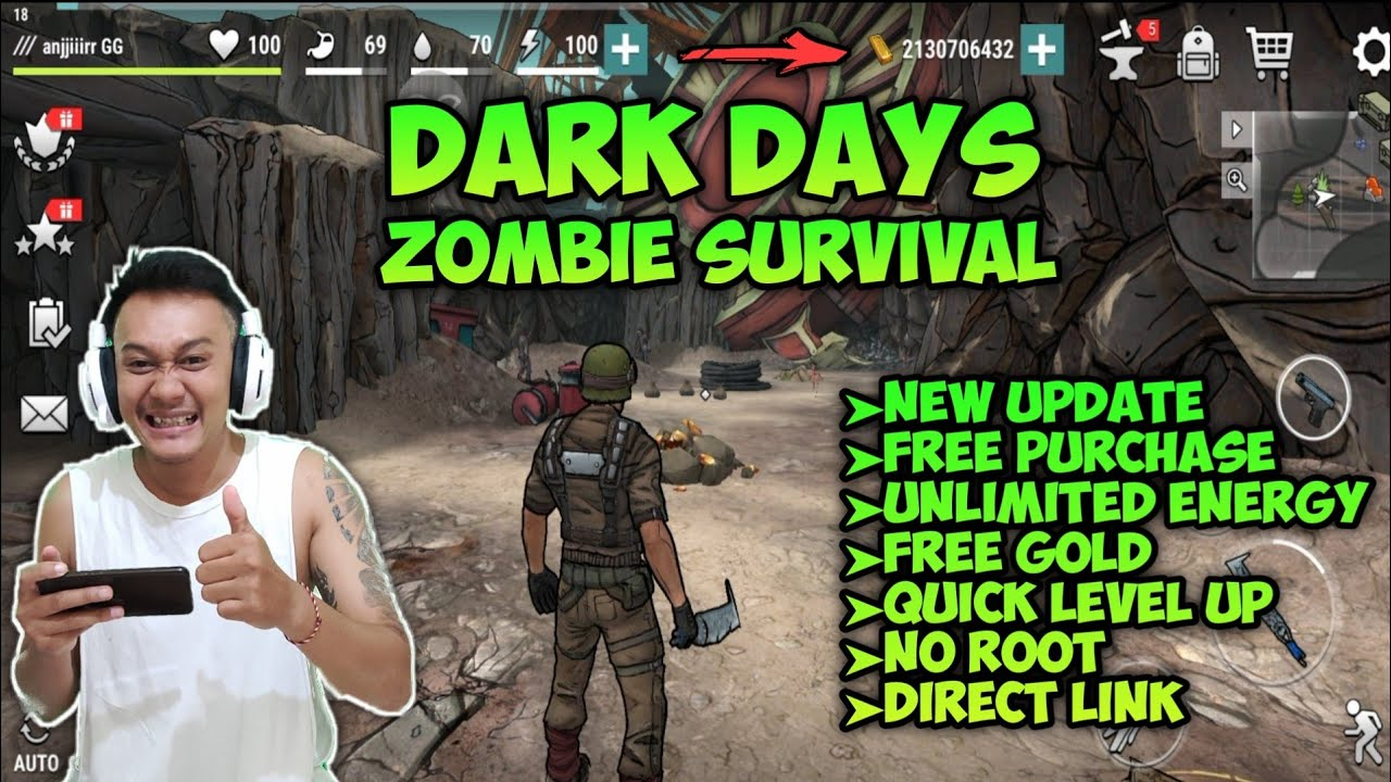 DARK DAYS ZOMBIE SURVIVAL MOD – MOD MENU|FREE PURCHASE – ANDROID MOD GAME 2020
