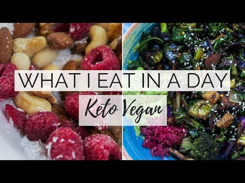 WHAT I EAT IN A DAY | Vegan Keto | Plant Based Meal Ideas thumbnail