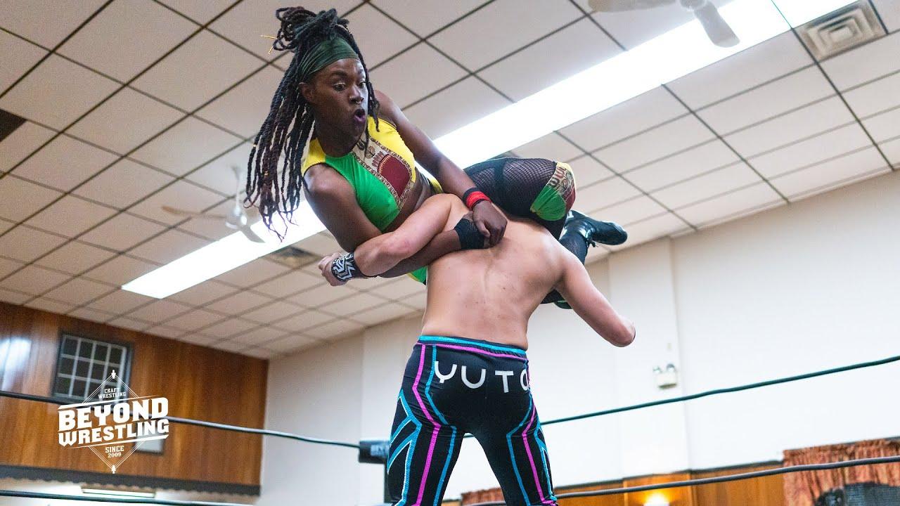 [Free Match] Wheeler YUTA v Trish Adora | Beyond Wrestling (All Elite, AEW Dark, Intergender, Mixed)