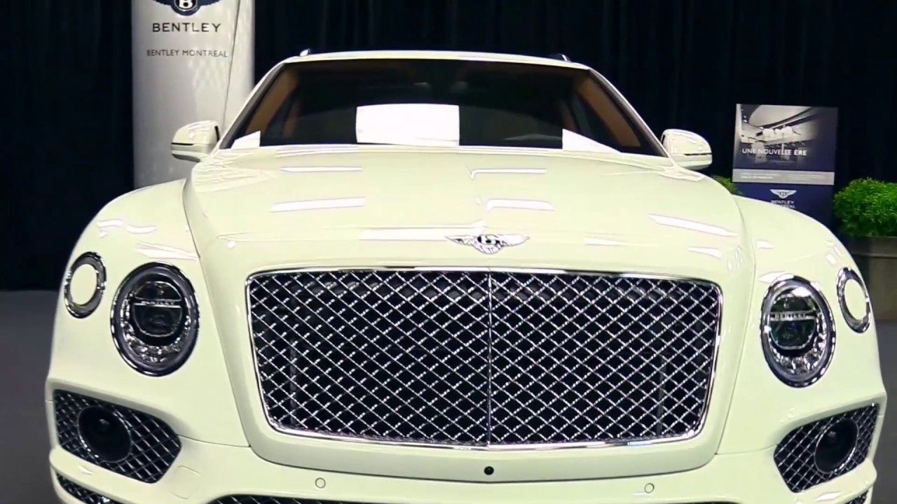 2017 Bentley Bentayga W12 Limited White Edition Features Exterior And Interior First Impression