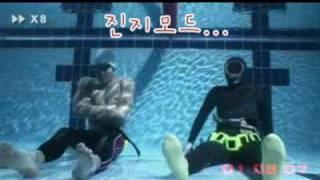 박태환 vs 제주해녀