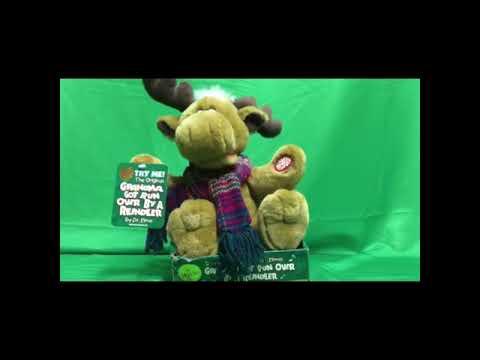 DanDee Singing Reindeer #1