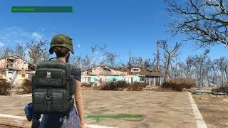Fallout 4.Creation Club.Армейский модульный рюкзак.