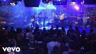 Depeche Mode - Barrel Of A Gun (Live on Letterman)