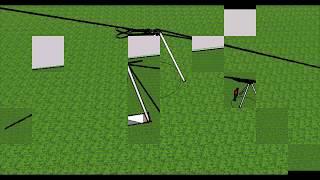Установка опоры ЛЭП вручную -  один человек! | Installing the pylon by hand - one man!(, 2016-01-10T11:01:51.000Z)