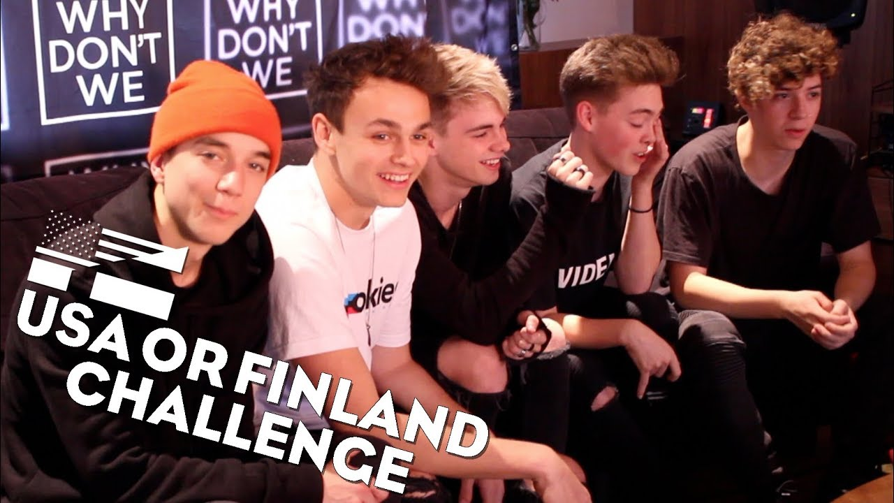 WHY DON'T WE   USA or Finland - YouTube