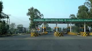 Sahianwala-Faisalabad Expressway - Motorway M3   Pakistan 🇵🇰
