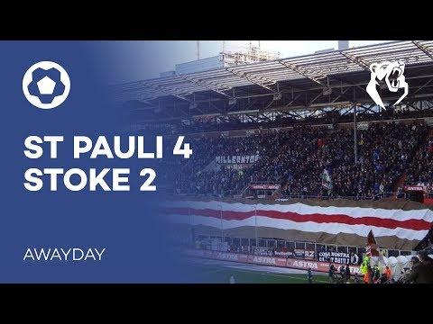 ST PAULI 4-2 STOKE   Awayday   The Bear Pit TV