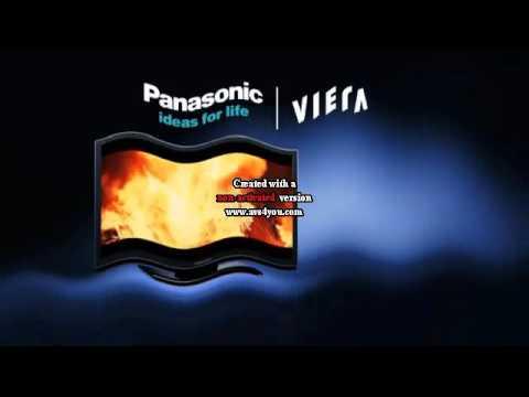 Panasonic logo history in waves ribbons