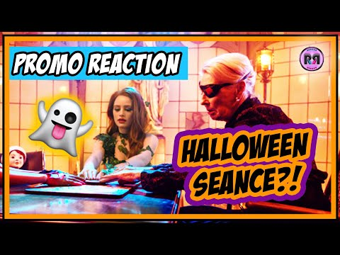 HALLOWEEN SEANCE?! 👻 | Riverdale 4x04 'Chapter 61: Halloween' PROMO REACTION