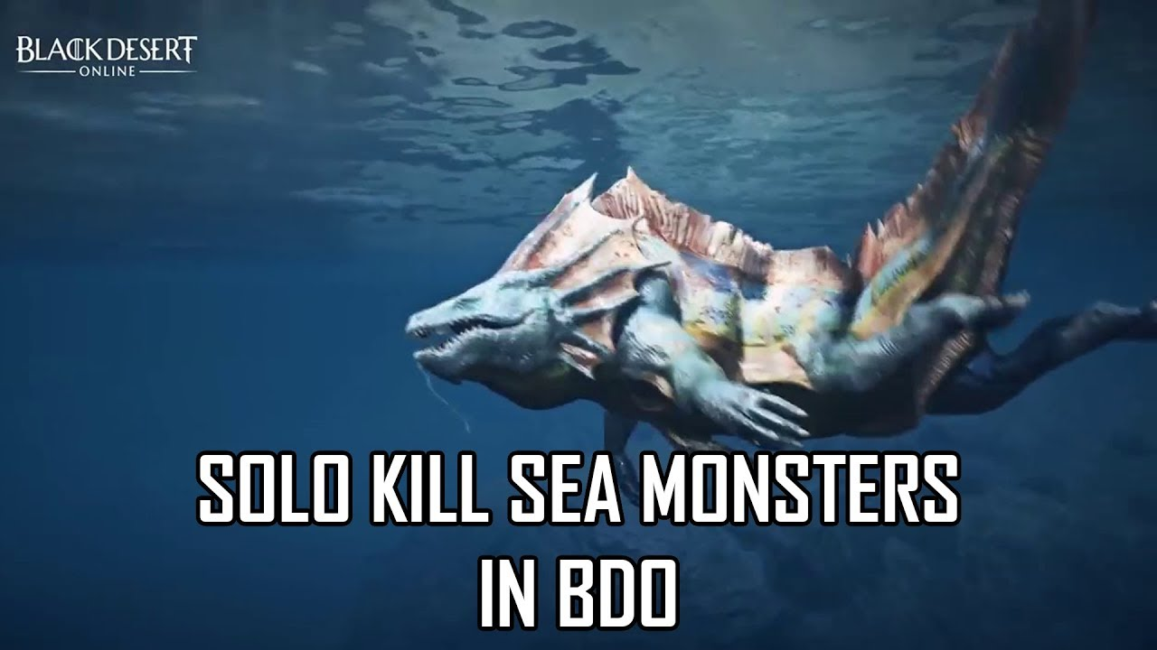 How to Solo a Sea Monster