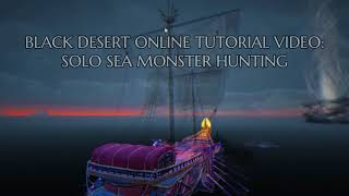 How To Solo A Sea Monster Videoruclip