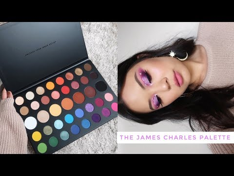 THE JAMES CHARLES PALETTE ⋆ 3 Looks, Review + Swatches! thumbnail