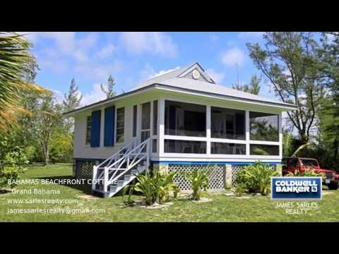 Bahamas Property - BAHAMAS BEACHFRONT COTTAGE