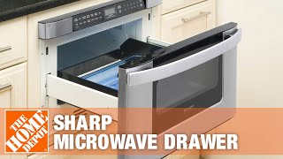 Sharp Microwave Drawer   The Home Depot