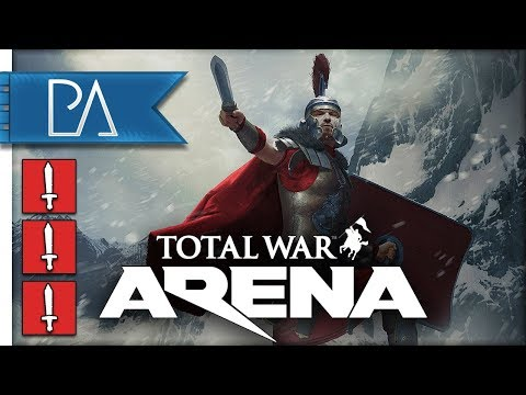 MIGHTY ROMAN INFANTRY - Germanicus - Total War: Arena Gameplay