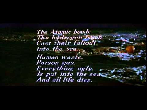 "Godzilla vs  Hedorah - Anamorphic ""Poem"""