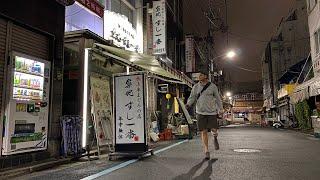 Tokyo Sushi Alleys at Midnight | Tsukiji Market