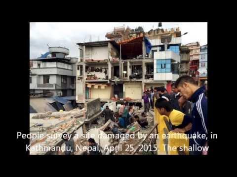 Earthquake in Nepal Kathmandu भुकम्प Photo 2015