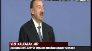 Aliyev'in sözleri Erdoğan'ı güldürdü - 13.11.2013