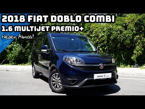 2018 Fiat Doblo Combi 1.6 MultiJet Premio Plus | Neden Almalı ?
