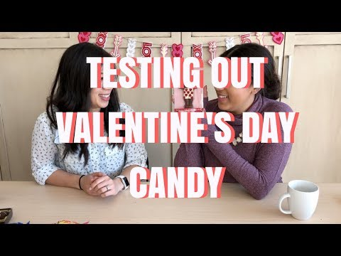 Testing Valentine's Day Candy