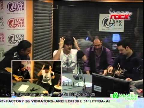 Netherfall @ Linea Rock, Radio Lombardia live interview