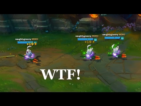LoL Best Moments #107 Fizz 1000+ movement speed? (League of Legends)