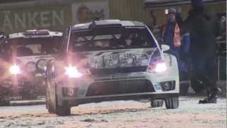 Volkswagen Polo R WRC Just-the-Car Footage, 2013 Rally Sweden