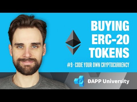 Buying ERC-20 Tokens With a Smart Contract · #9 Code Your Ow