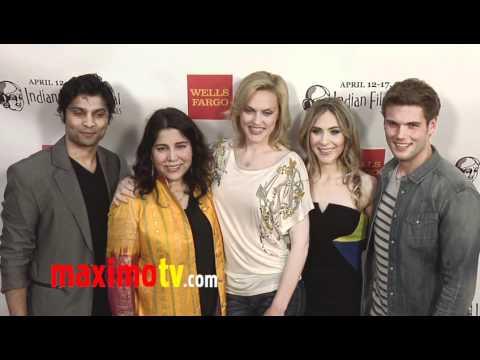 BEHOLDER Cast at IFFLA 2011 Elaine Hendrix, Bonnie Kathleen Ryan, Rupak Ginn