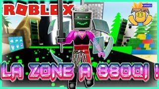 J'AI LA ZONE A 880QI ! | Roblox Unboxing Simulator