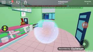 Roblox ben 10 (all Transformations of the Beast)