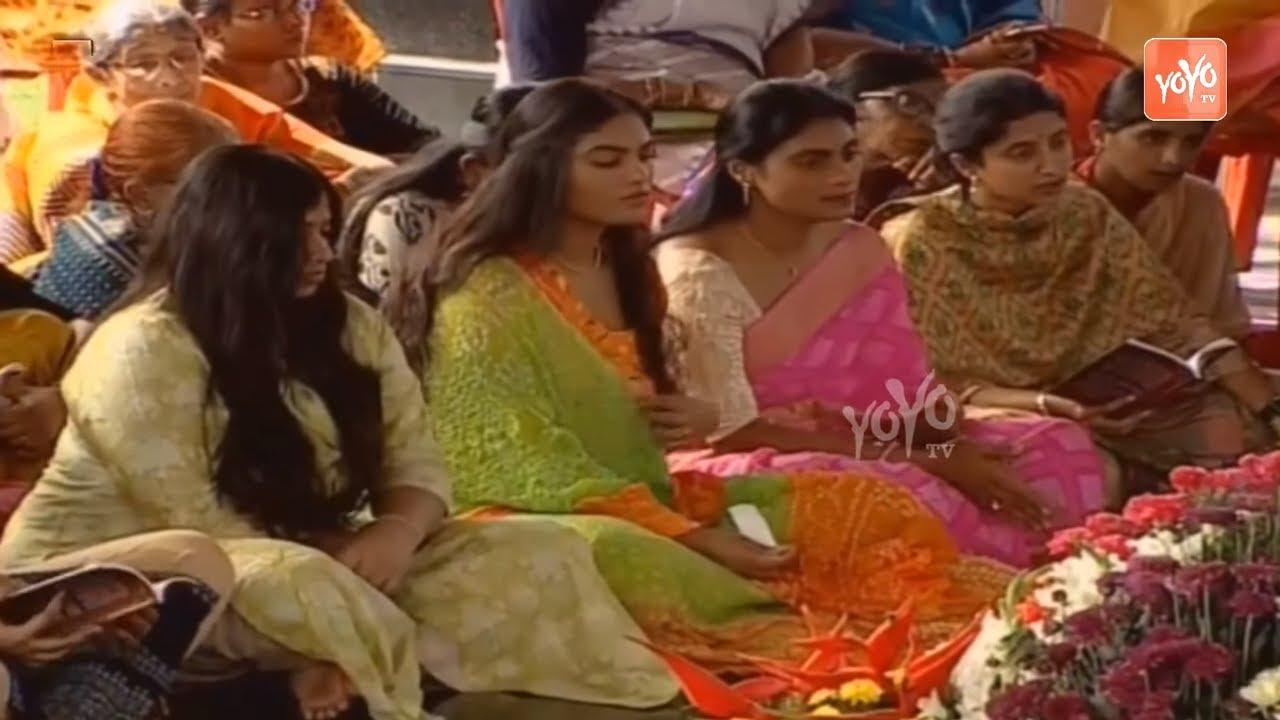YS Jagan Daughters At YSR Jayanthi Celebrations   AP News   #YSRBirthday    YOYO TV Channel