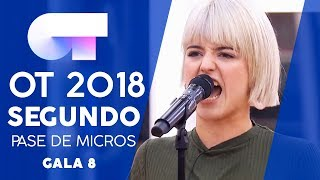 """JE VEUX"" - ALBA RECHE SEGUNDO PASE DE MICROS GALA 8 OT 2018"