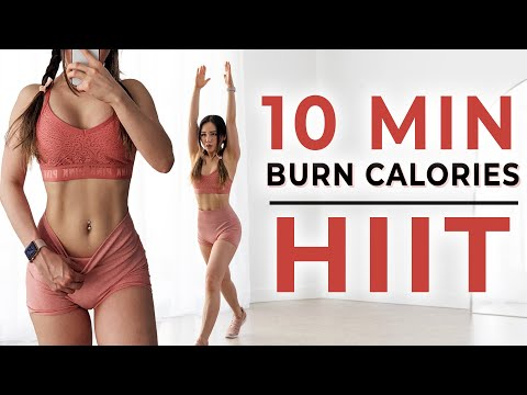 10 Min HIIT to burn lots of calories | No Equipment Fat Burning Workout