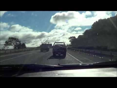 Driving to Canberra from Sydney on Federal Highway: To Australian Capital Territory