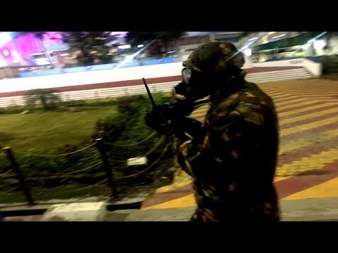 Watch: What are these masked gang trying at Salt Lake Stadium before FIFA U17 World Cup?