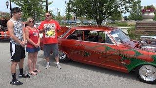 1965 Chevy II - INCREDIBLE CUSTOM PAINT -Engine Start - 4k Interview - GONE WILD