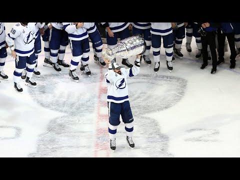 Lightning hoist the Stanley Cup