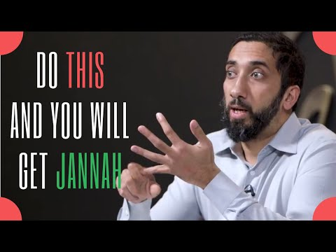 2 things that will change your life immediately I Nouman Ali Khan I 2019