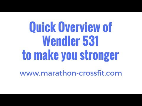 Wendler 531 detailed 8 month review [Article, Video]