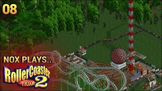 Nox Plays... Rollercoaster Tycoon 2 (Wacky Worlds) | #8: Africa - Victoria Falls, Pt. 1