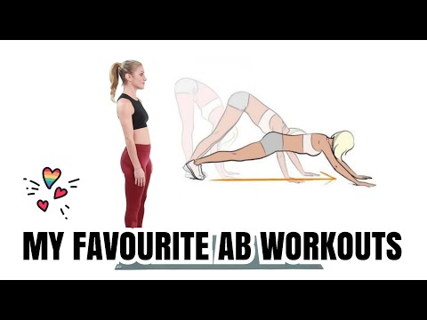 BEST AB WORKOUTS + HOW TO DO INCHWORM EXERCISE
