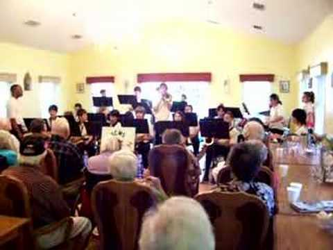 South Charlotte Middle School 8th Grade Jazz Band