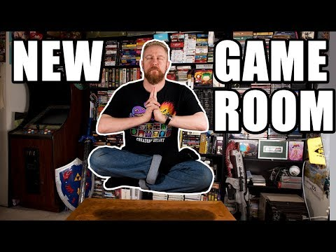 NEW VIDEO GAME ROOM TOUR - Happy Console Gamer