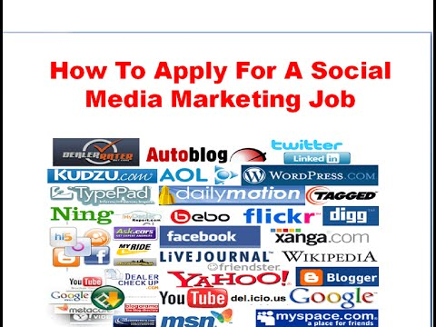 Social Media Marketing Job | How To Apply For Them