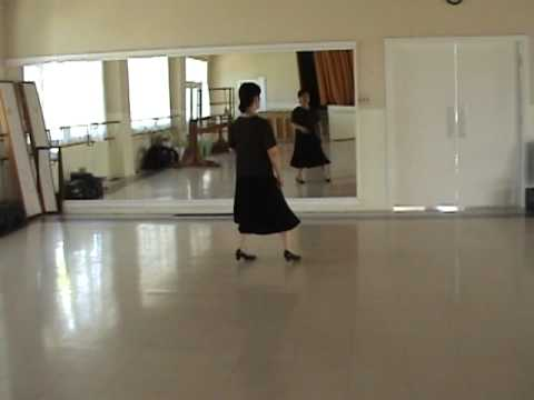 Line Dance - Waltz Across Texas (with music) .MPG