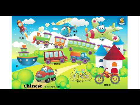 Online Chinese games - Click and tell online game - Chinese language learning games for kids